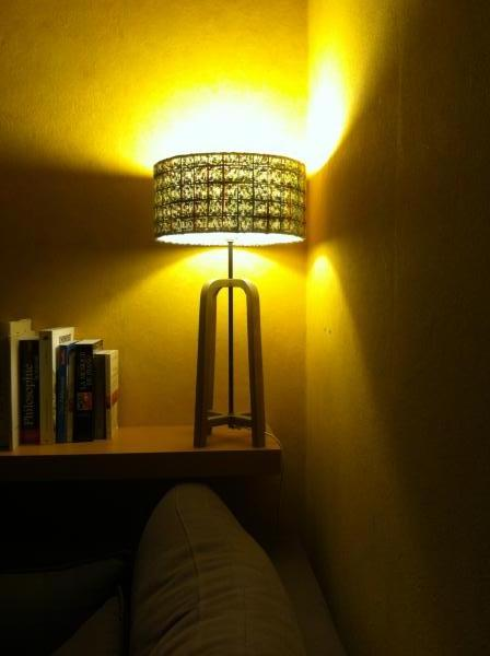 Donegal lampshade and Table lamp Andersen, perfect combination in my living : Soft lighting, original.. Very nice products and quality!